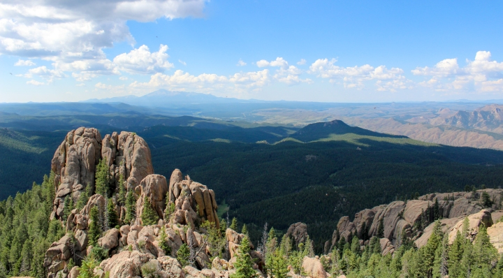 View from Devil's Head Fire Lookout.