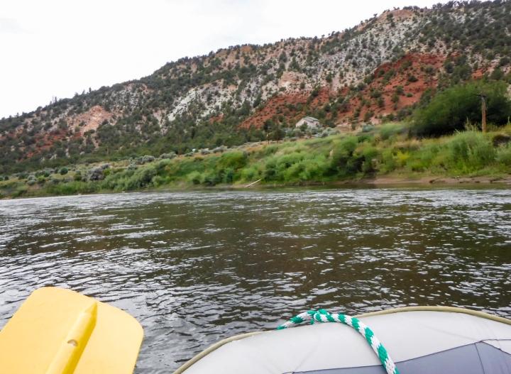 View along the Colorado River.
