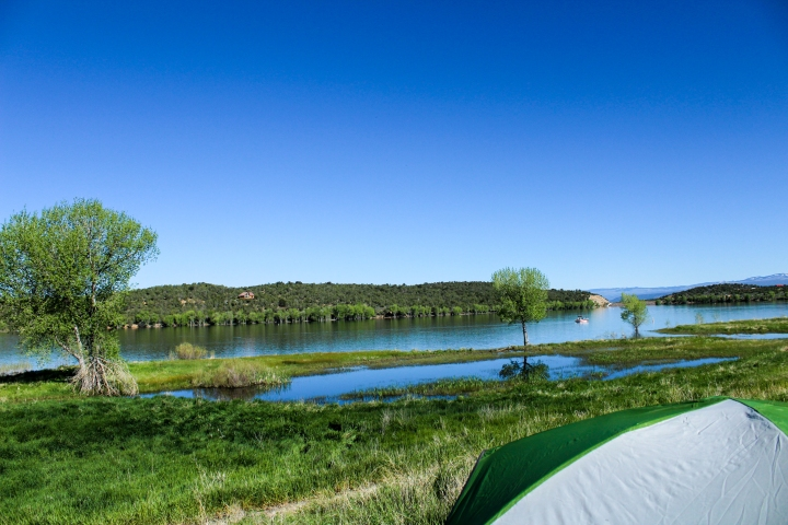 Crawford Lake, Crawford, Colorado.