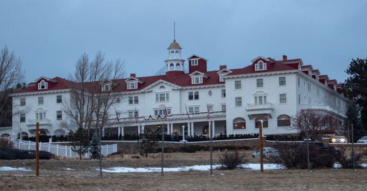 The Stanley hotel of Estes Park, CO.